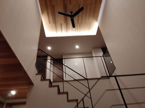 モデルルームの階段