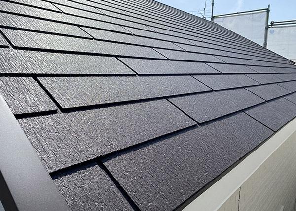 キレイにメンテナンスした屋根